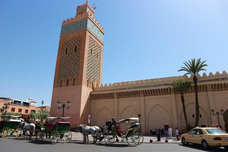 Mosquée à Marrakech
