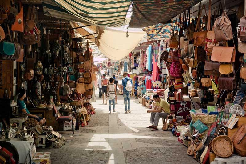 Souk à la Medina de Marrakech