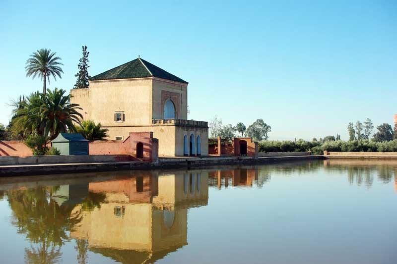 Bassin de la Menara à Marrakech